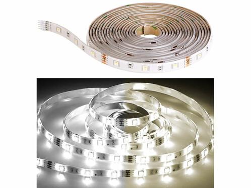 Bande LED LAT-530 à intensité variable 800 lm - 5 m - blanc ajustable
