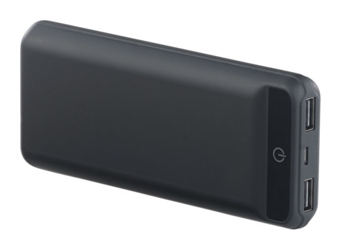 Batterie d'appoint USB ultra plate 20000 mAh / 2,4 A / 12 W