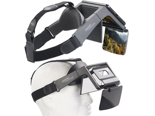 Lunettes de réalité augmentée 69° pour smartphones