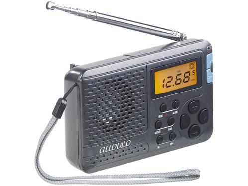 Mini récepteur radio mondial 12 bandes TAR-612