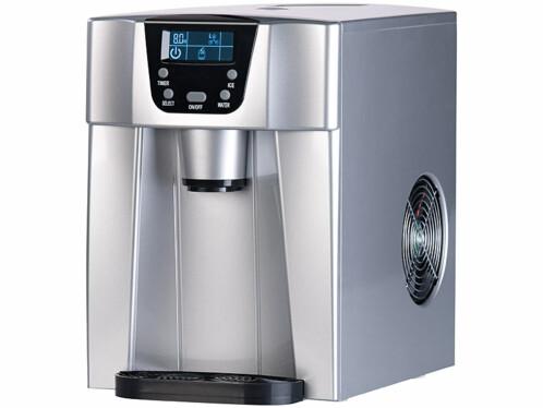 Machine à glaçons avec fontaine à eau EWS-2200.