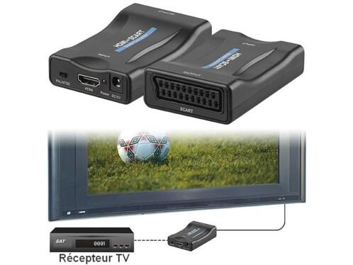 Adaptateur HDMI vers Péritel