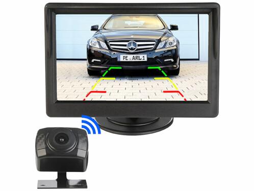 """Caméra de recul sans fil avec écran couleur 5"""" PA-490"""