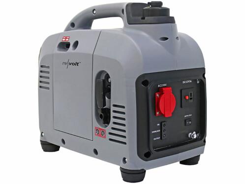Générateur à essence mobile d'une puissance de 1000 watts.