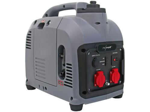 Générateur à essence mobile avec une puissance de 2000 watts.