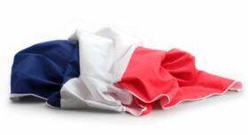 Drap de bain microfibre drapeau France - 180 x 90 cm