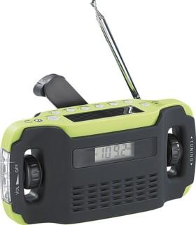 Radio portable solaire & dynamo ''SOL-1510''