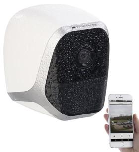 camera de surveillance etanche mini hd ip sans fil avec application et detecteur de mouvement IPC-580 visortech