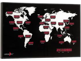 Horloge mondiale multifuseaux