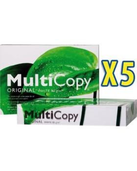Lot de 5 ramettes de papier Multicopy Visio