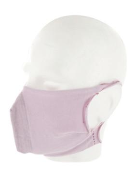 10 masques barrière lavables (sans filtres) - Rose