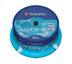 CD-R Verbatim AZO (x25)