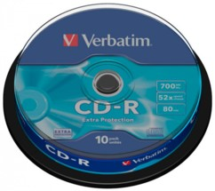 CD-R Verbatim Spindle (x10)