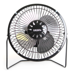 Ventilateur de table USB - Noir