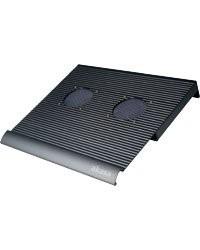 Tablette de ventilation aluminium pour PC portable jusqu'à 17''