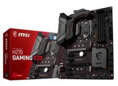 carte mère pc gamer msi h270 gaming m3 pour processeurs i3 i5 i7 intel celeron socket 1151 ddr4 usb 3