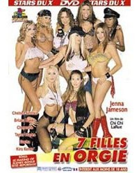 7 filles en Orgie