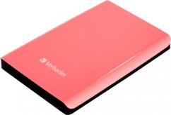 Verbatim Disque dur externe Store'n'Go 2,5'' USB 3.0 Rose - 1 To
