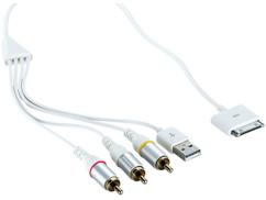 Câble AV pour iPod iPhone et iPad