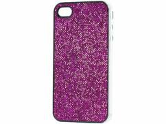 Coque de protection glamour pour iPhone rose pétillant