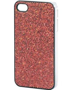 Coque de protection glamour pour iPhone rouge pétillant