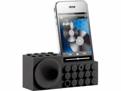 Amplificateur nomade ''Bloc de construction'' pour iPhone
