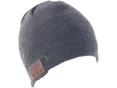 Bonnet ''Beanie'' Bluetooth avec micro-casque intégré - gris