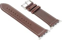 Bracelet en cuir pour Apple Watch - 38 mm - Brun