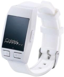 Bracelet haut-parleur avec bluetooth & fonction mains libres - Blanc