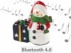 Bonhomme de neige avec haut-parleur bluetooth intégré par Callsel