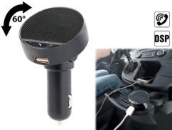 kit mains libres bluetooth avec micro et boutons de prise d'appel intégrés utilisation legale autorisée en voiture