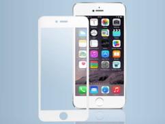 Façade de protection en verre trempé pour iPhone 6 / 6S - blanc
