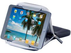 Housse avec support pour iPad Mini et tablettes 7'' à 7,9''