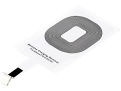 Patch compatible Qi pour iPhone 5C, 5S, SE, 6, 6S/Plus, 7, 7S/plus