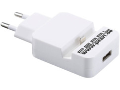 chargeur docking station lightning pour iphone apple avec second chargeur USB