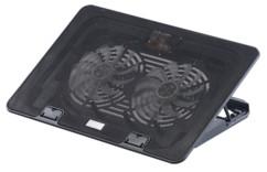 tablette de ventilation pour ordinateur portable 17 macbook avec eclairage led bleu et sortie USB callstel