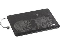 """Tablette de ventilation pour pc portable jusqu'à 14"""" pas cher Callstel"""