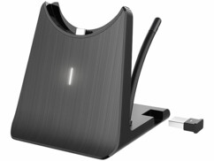 Station de chargement et support 2 en 1 pour micro-casque OHS-280 Callstel.
