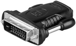 adaptateur vidéo pour PC DVI vers écran HDMI goobay