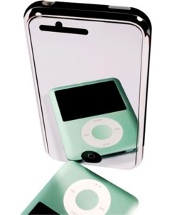 Film de protection pour iPhone 3G / 3Gs - effet miroir