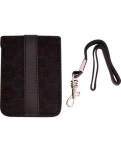 Pochette pour iPod Nano 3G et Auvisio DMP-160.mini - Noire