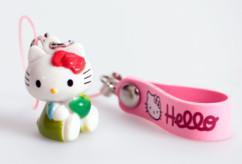 Bijou de téléphone portable ''Hello Kitty''