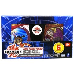 Coffret 30 cartes Booster premium ''Bakugan''