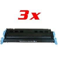 Lot de 3 toners compatibles Q6003A/EP707M - magenta