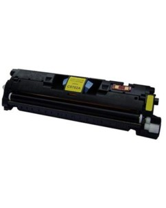 Toner remanufacturé jaune HP C9702A / C3962A Canon EP701Y