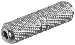 adaptateur jack audio 3.5mm femelle vers femelle goobay en zinc