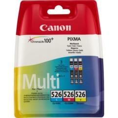 Cartouches originales Canon Cli526 Pack - Couleur