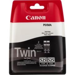 Cartouches originales Canon PGI525BK Dual Pack - Noir