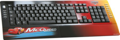 Clavier multimédia Cars flash Mcqueen