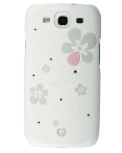 Coque cuir ''Crystal Bloom'' pour Galaxy SIII